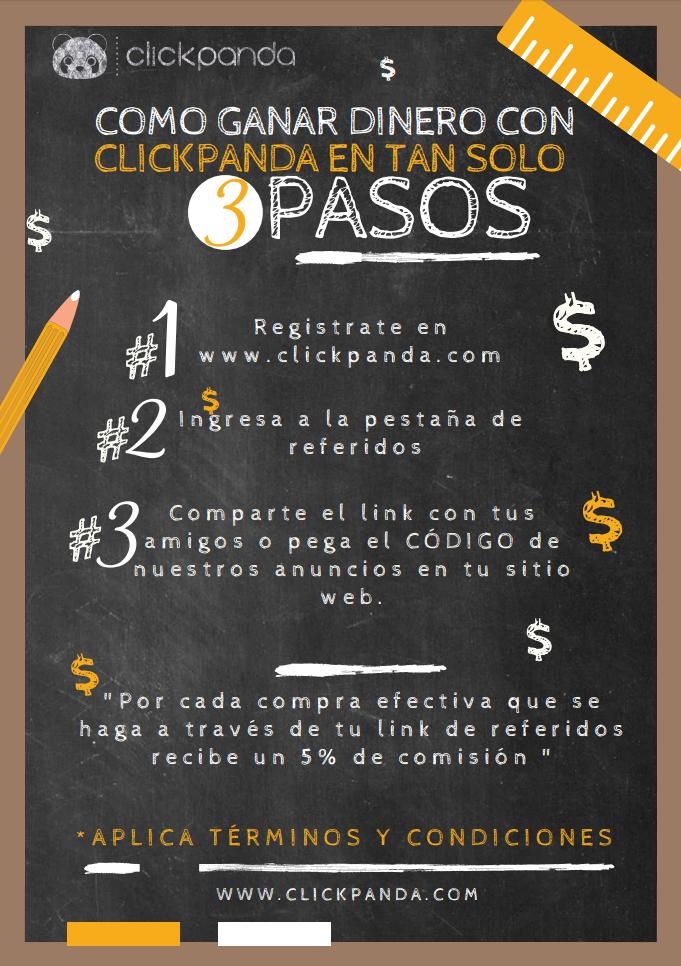 Gana dinero fácil con ClickPanda