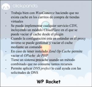 Diferencias entre los plugin WP Rocket